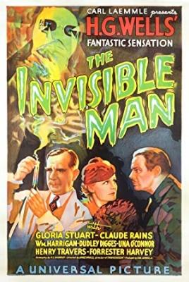 Kinoteka: Nevidni človek - The Invisible Man
