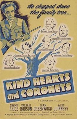 Vse za dediščino - Kind Hearts and Coronets
