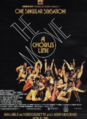 Plesalci za prvo vrsto - A Chorus Line