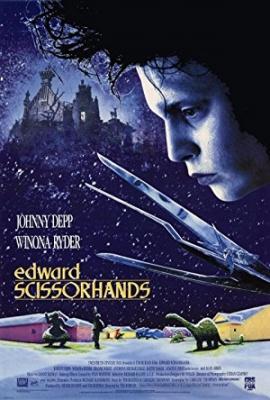 Edvard škarje, film