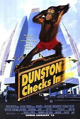 Orangutan v hotelu - Dunston Checks In