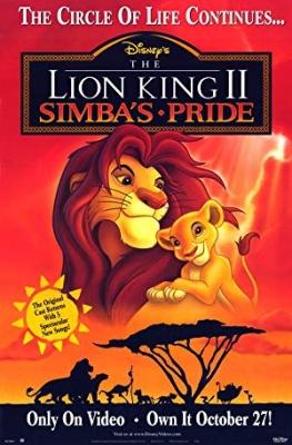 Levji kralj 2: Simbov ponos - The Lion King 2: Simba's Pride