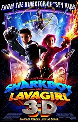Morski deček in deklica iz lave - The Adventures of Sharkboy and Lavagirl 3-D