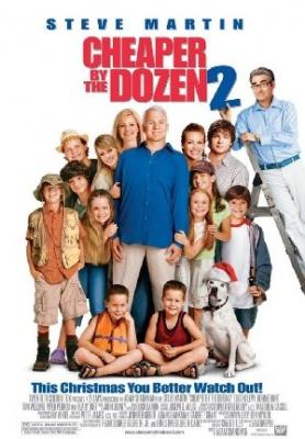 Velika družina, veliko smeha - Cheaper by the Dozen 2