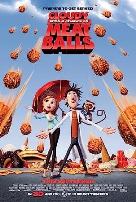 Oblačno z mesnimi kroglicami, film