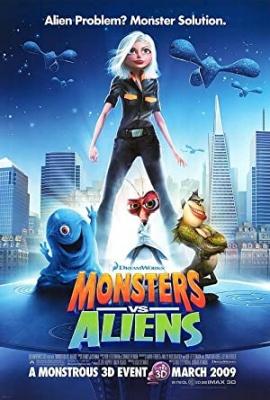 Pošasti proti nezemljanom - Monsters vs. Aliens