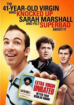 41-letni devičnik, ki je napumpal Sarah Marshall - The 41-Year-Old Virgin Who Knocked Up Sarah Marshall and Felt Superbad About It