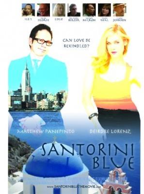 Romanca v Grčiji - Santorini Blue