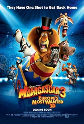 Madagaskar 3 - Madagascar 3: Europe's Most Wanted