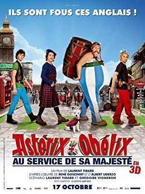 Asterix in Obelix v Britaniji, film