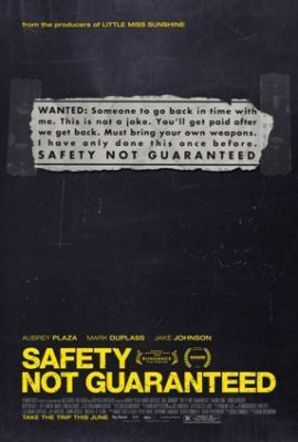 Varnost ni zagotovljena - Safety Not Guaranteed