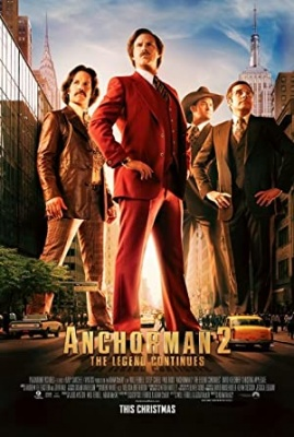 Jebeš novice - Anchorman 2: The Legend Continues