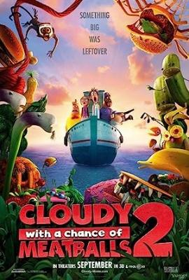 Oblačno z mesnimi kroglicami 2 - Cloudy with a Chance of Meatballs 2