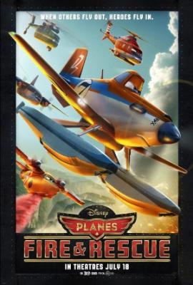 Avioni 2: V akciji - Planes: Fire & Rescue