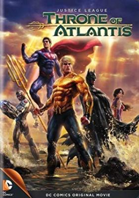 Liga pravice: Prestol Atlantisa - Justice League: Throne of Atlantis