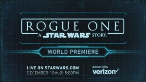 Rogue One: Zgodba vojne zvezd - Rogue One: A Star Wars Story - World Premiere