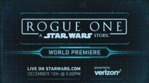 Rogue One: Zgodba vojne zvezd - Rogue One: A Star Wars Story - World Premiere